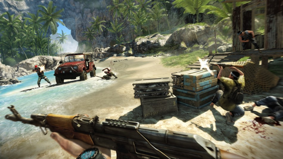 Far Cry 3 game BAFTA