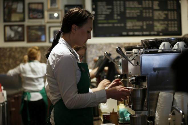 UK coffee barista