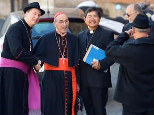 Pick the fake cardinal