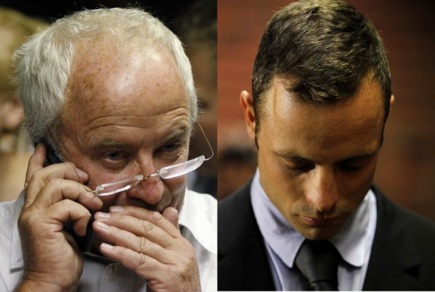 Henke and Oscar Pistorius