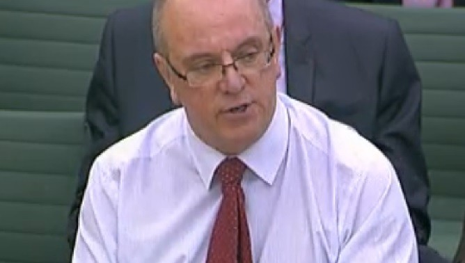 Sir David Nicholson appearing before the Health Select Committee