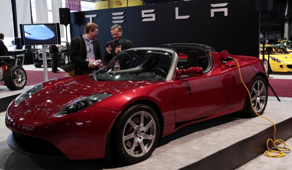 Tesla Car Review Top Gear