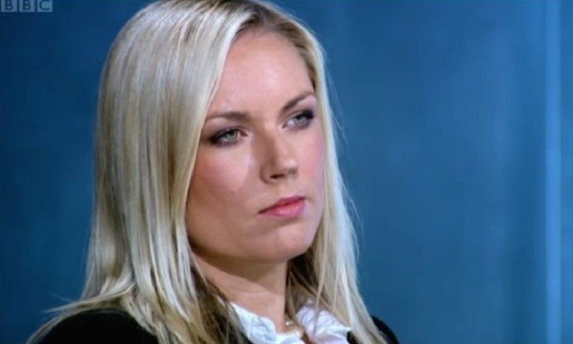 Not impressed: English on The Apprentice