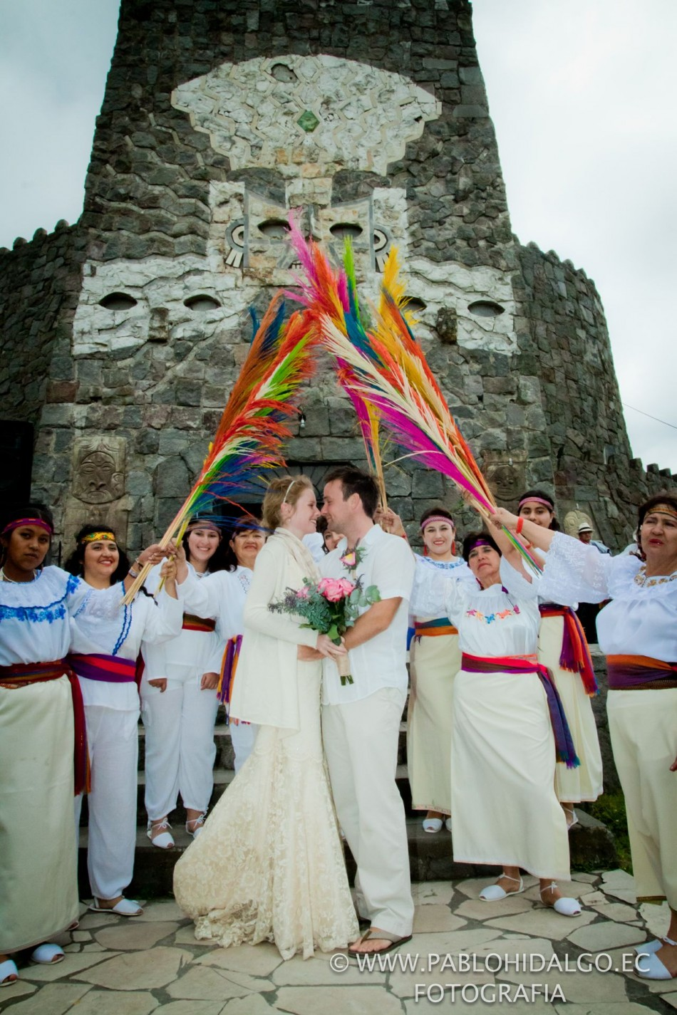 Ecuador wedding