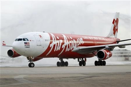 One of AirAsia's passenger jets