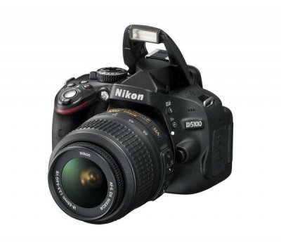 Nikon D5100 Digital SLR Camera with 18-55 mm VR zoom lens