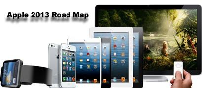 Apple 2013 Road Map