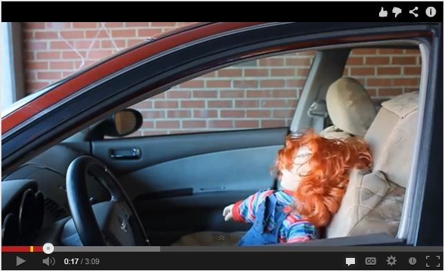 Scary Doll Driver (Source - MagicofRahat/YouTube)