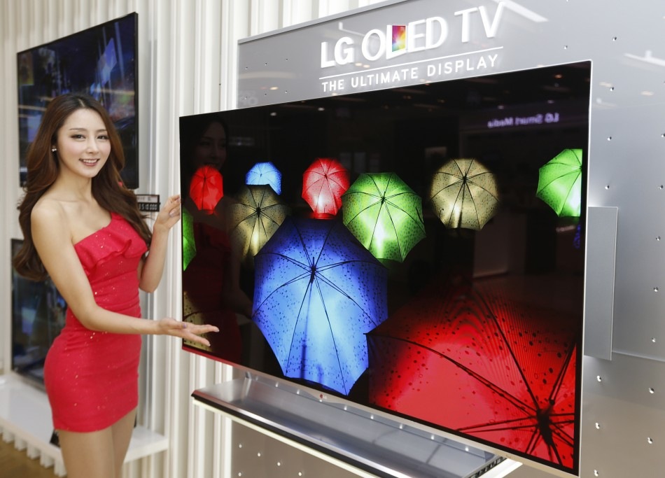 LG 55in OLED television