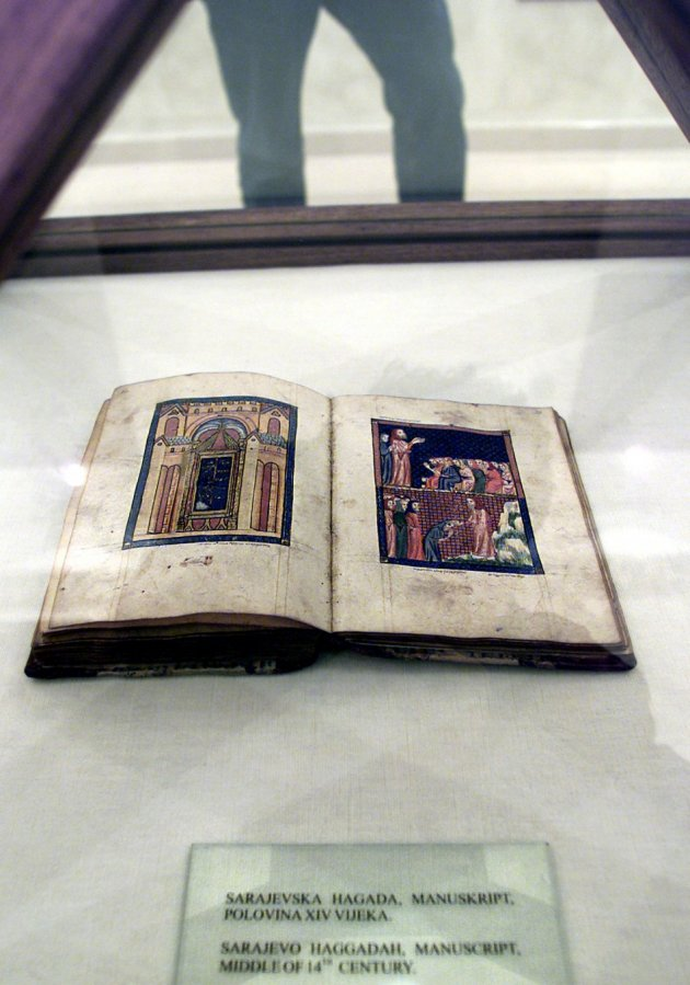 The oldest Jewish Sephardic Haggadah in the world