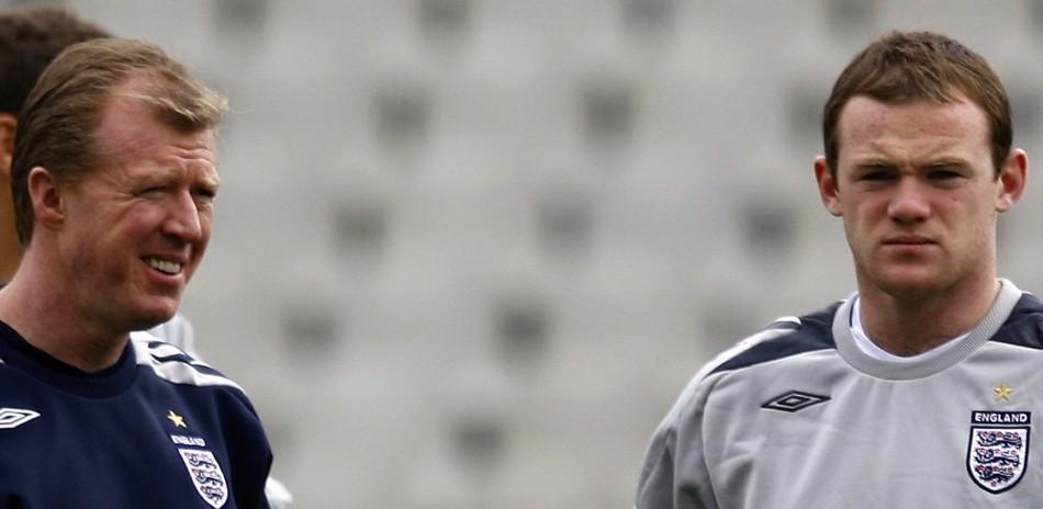 Steve McClaren and Wayne Rooney