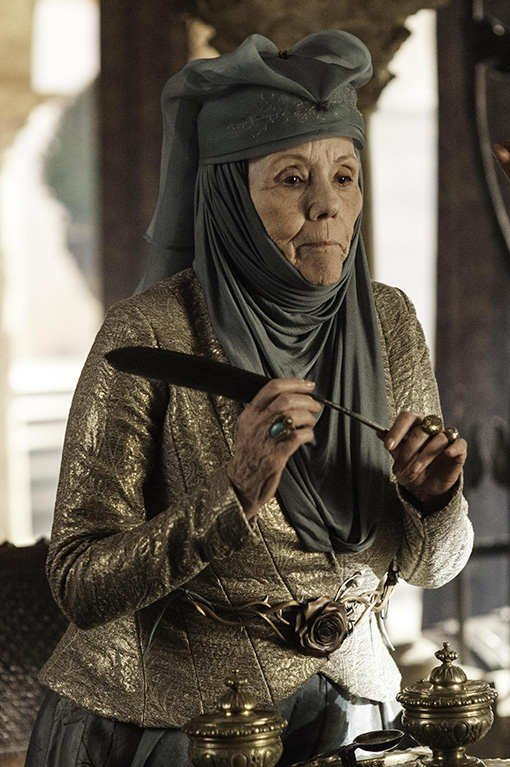 'Game of Thrones' cast remembers how Diana Rigg stormed off set, 'terrified' a director