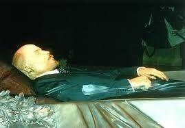 Vladimir Lenin body