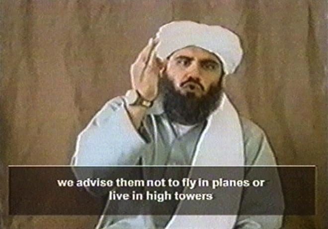 Osama Bin Laden's spokesperon