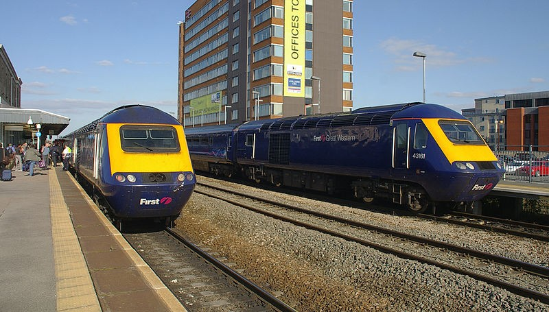The Great Western franchise runs between south Wales and London (Wikicomms)