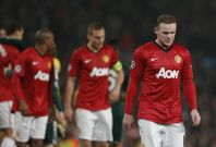 Wayne Rooney was benched against Real Madrid