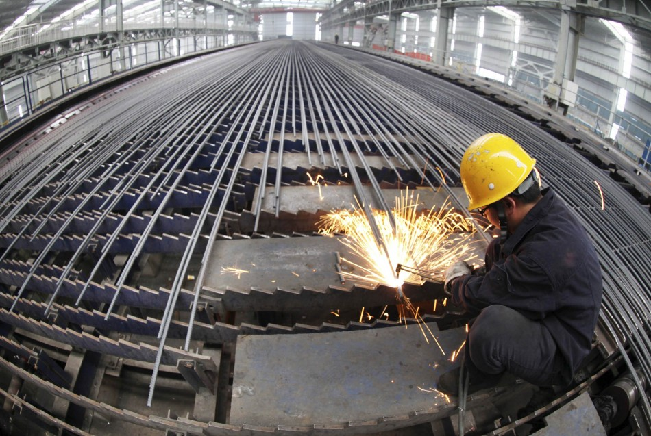 China industrial output