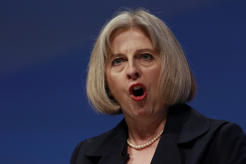 Home secretary Theresa May (Reuters)