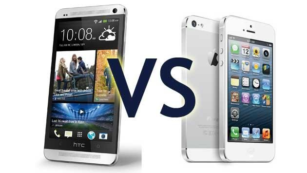 HTC One v Apple iPhone 5:  Which One to Buy