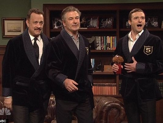 Justin Timberlake hosts NBC's Saturday Night Live