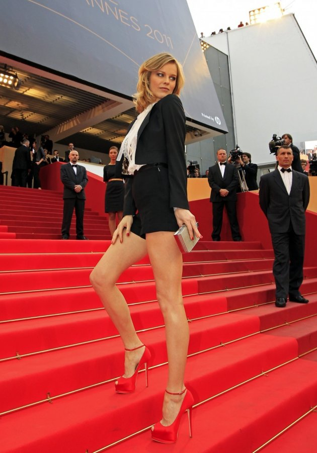 Czech model Eva Herzigova in 2011.