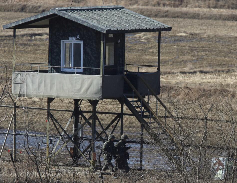 Tensions in Korean peninsula
