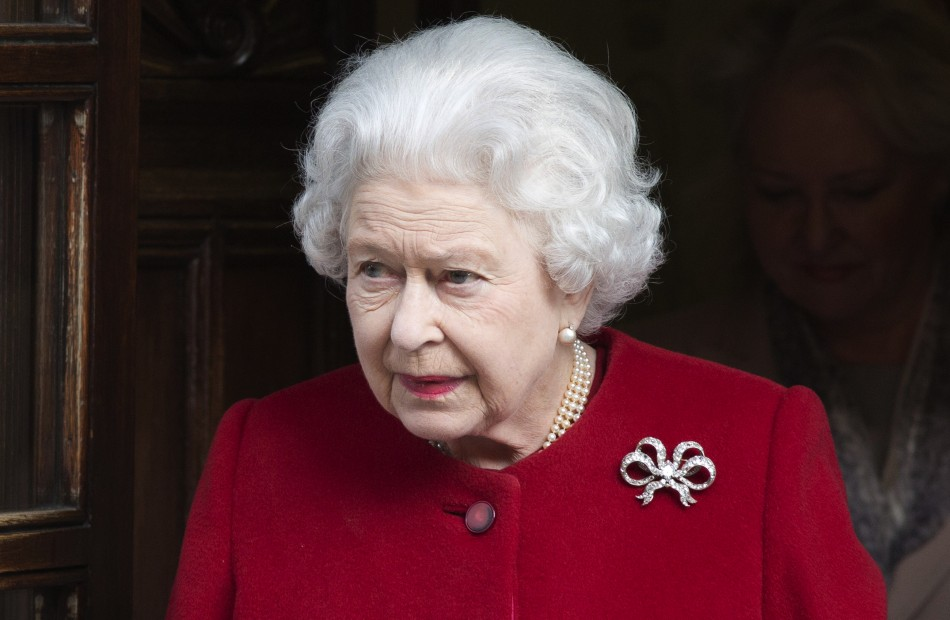 Queen leaving Edward VII hospital