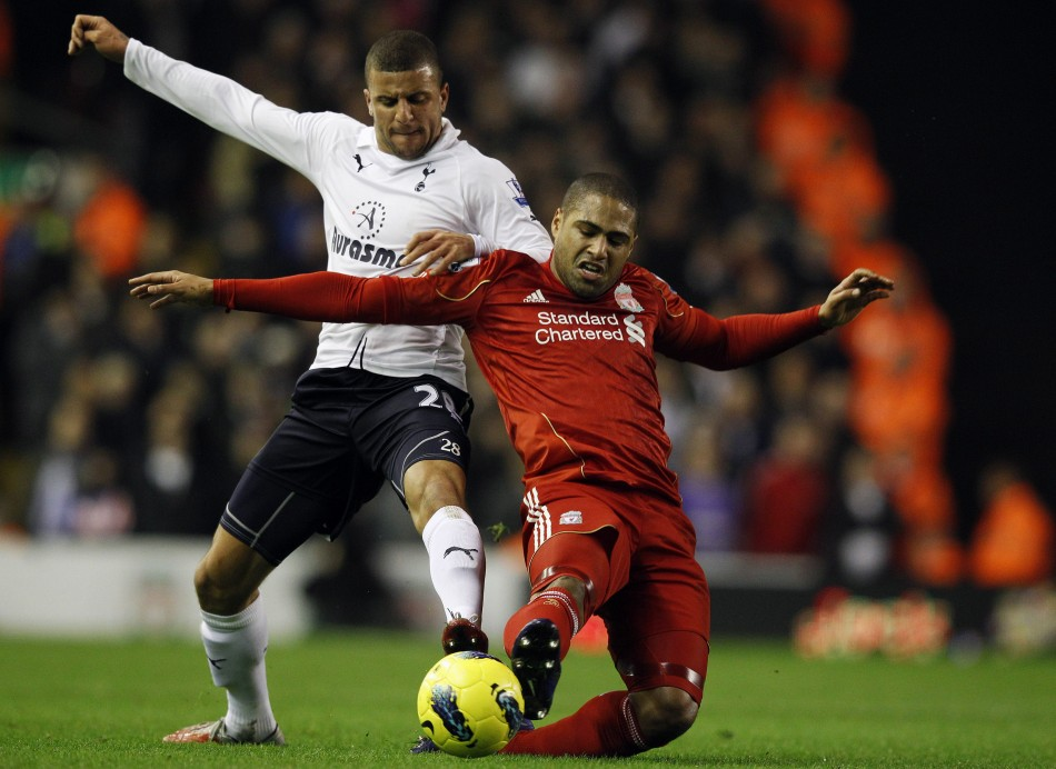 Kyle Walker and Glen Johnson