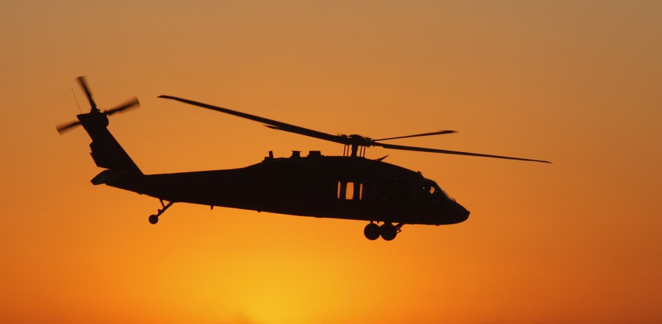 UH Black Hawk helicopter