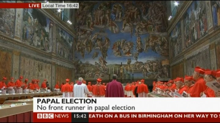 Another picture of the Sistine Chapel