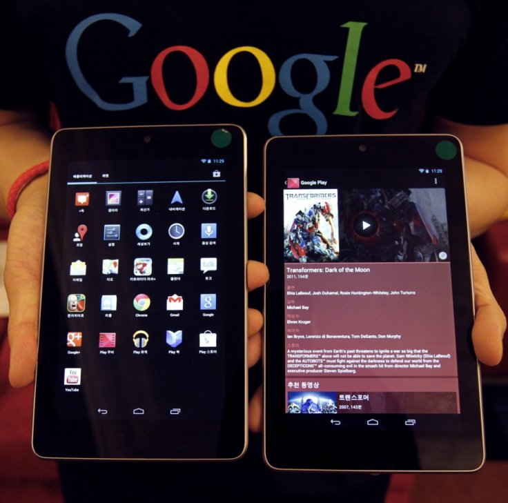Google Nexus 7 tablets