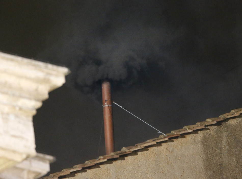 Vatican black smoke