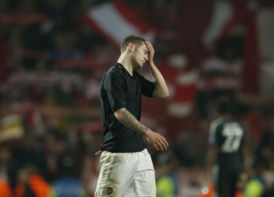 Wilshere has been sidelined for three weeks