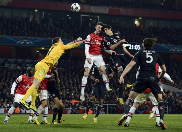 Arsenal have to overturn a two-goal deficit