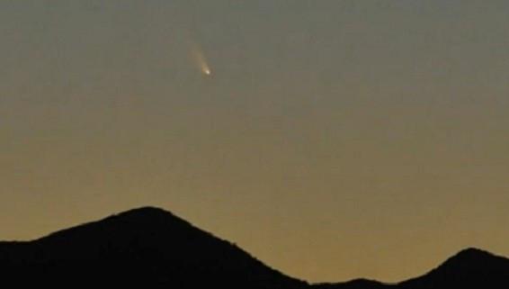 Pan-STARRS in the sky PIC: Fred Espenak