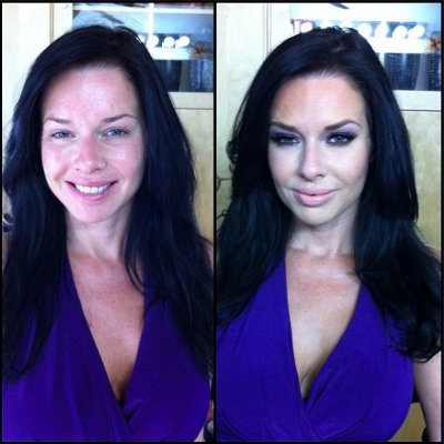Porn Star Before and After Make-up