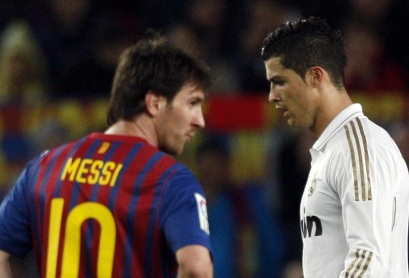 Fierce rivals: Messi and Ronaldo epitomise Real Madrid and Barcelona rivalry