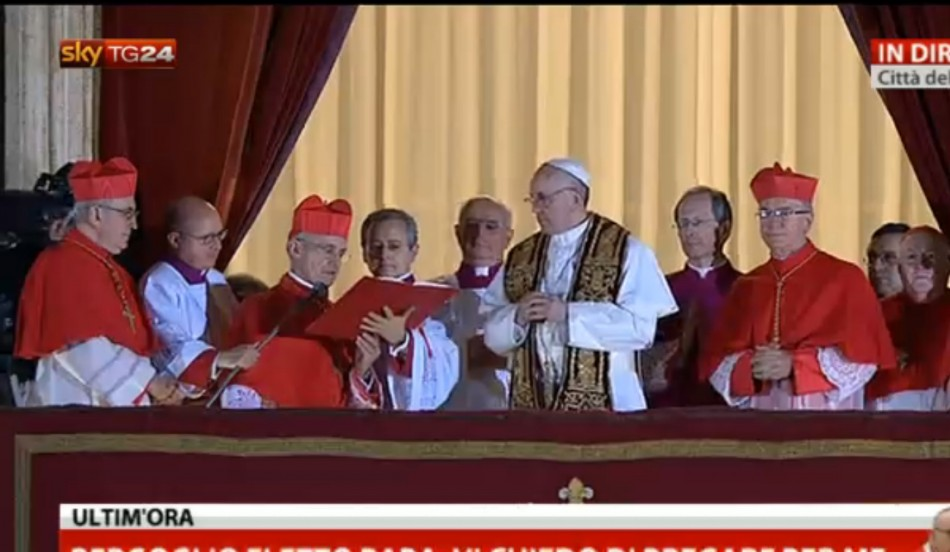Argentinian Jorge Mario Bergoglio