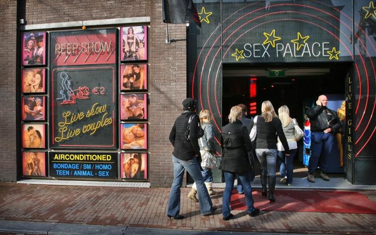 [For Representative Purposes - Amsterdam's Red Light District]