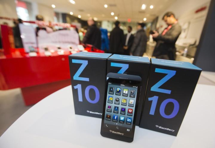 BlackBerry 10 smartphone one million order