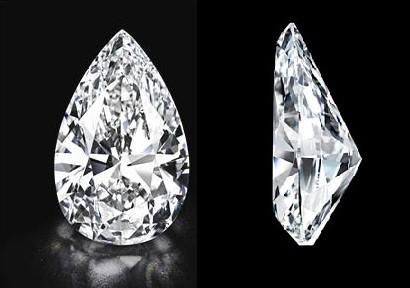World's biggest flawless diamond