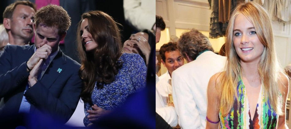 Kate Middleton is reportedly upset with Prince Harry's girlfriend Cressida Bonas