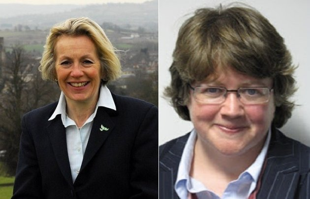 Tessa Munt (left) and Therese Coffey
