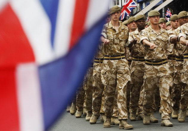 British military
