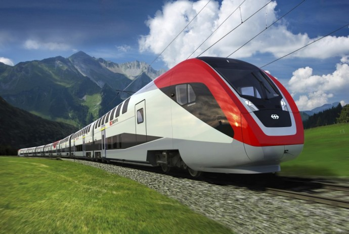 Bombardier Double-deck train, Switzerland