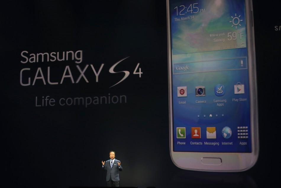 Samsung Galaxy S4 Launch