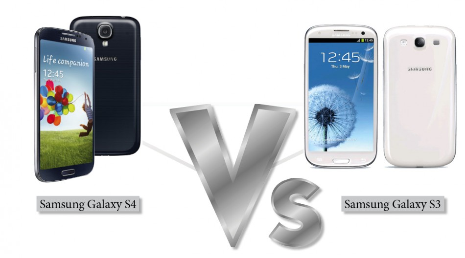 Samsung Galaxy S4 vs Samsung Galaxy S3