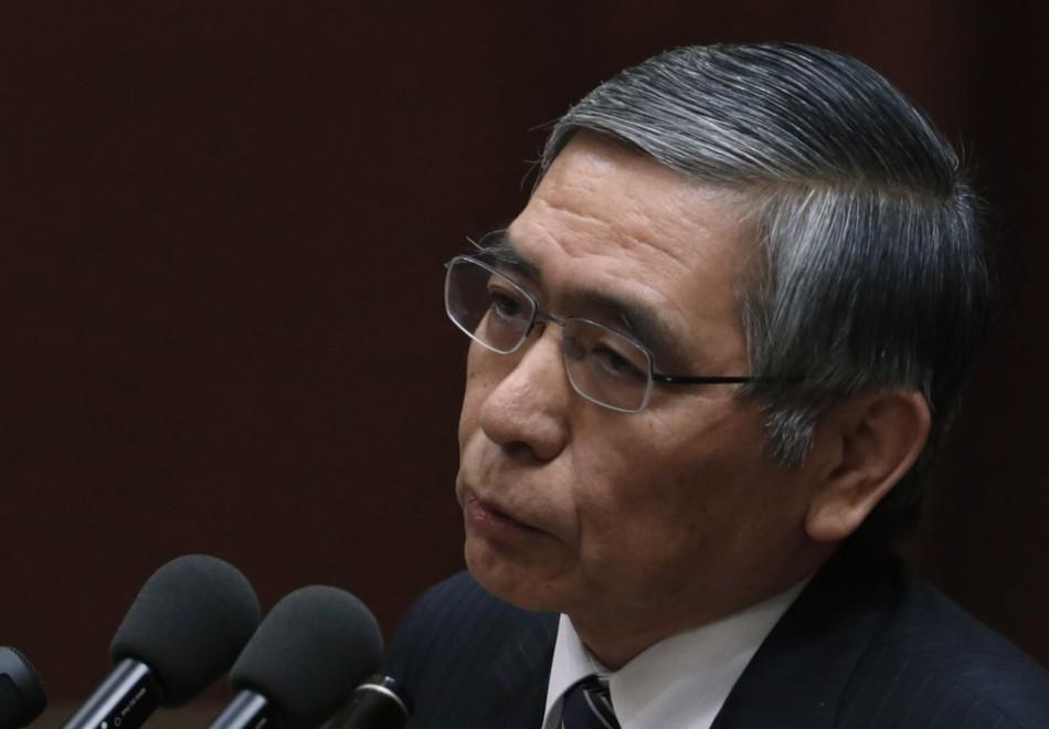 Japan parliament approves Haruhiko Kuroda