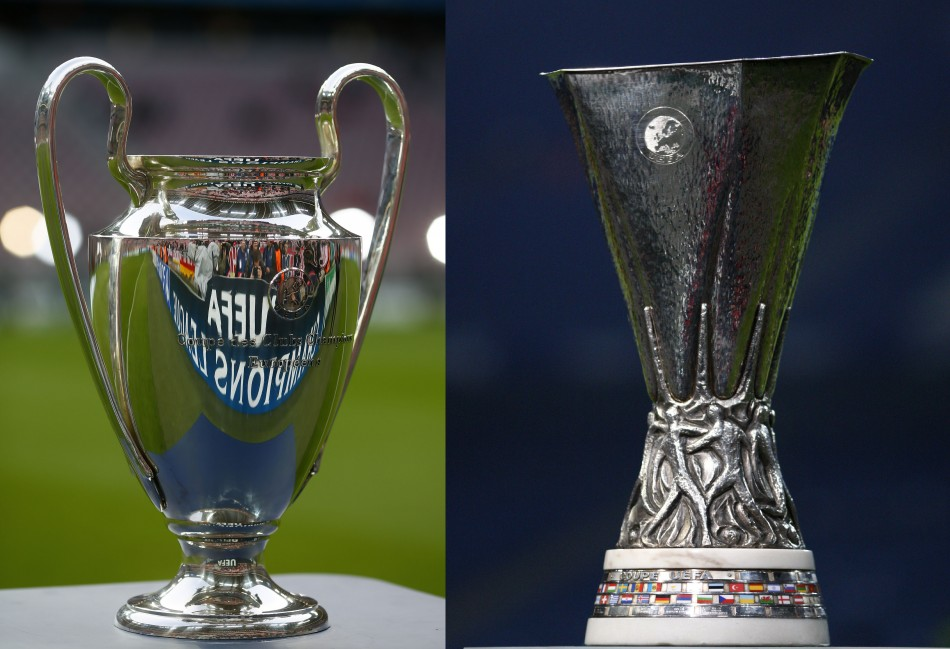 Champions League and Europa League