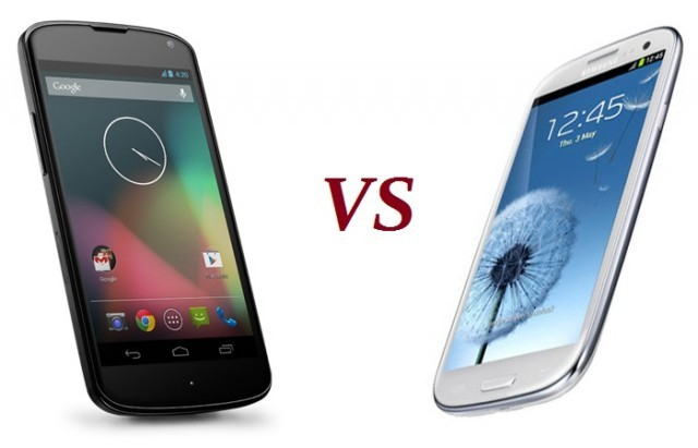 Samsung Galaxy S4 Vs Nexus 4: Octa-Core Champion Takes on Google's Quad-Core Beast